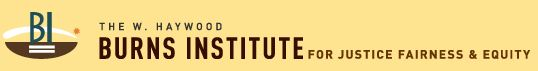 W Hayward Burns Instituter for Justice Fairness and Equity logo
