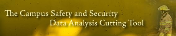Campus Safety and Security Data Analysis Cutting Tool