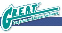 Gang Resistance Education and Training logo