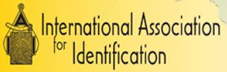International Association for Indentification logo