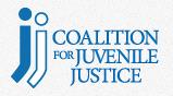 Coalition for Juvenile Justice logo