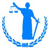 lady justice holding scales in one hand and a sword in the other hand