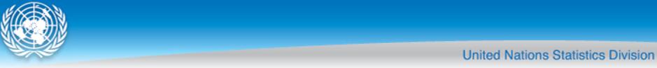 United Nations Statistics Division Logo