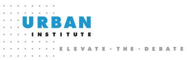 Urban Institute Logo