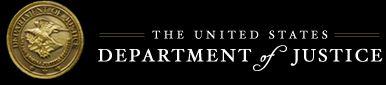 U S Department of Justice logo
