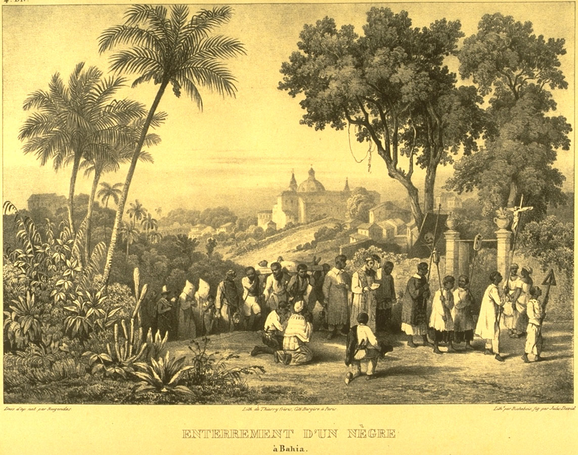 Enterrement d'un Nègre a Bahia