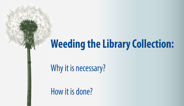 Weeding the Library Header