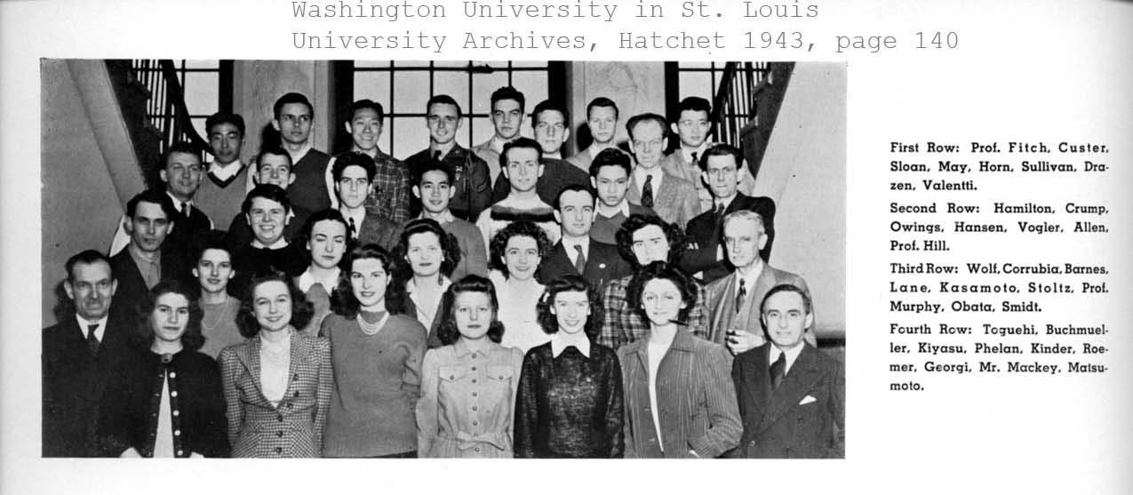Architecture Club 1943