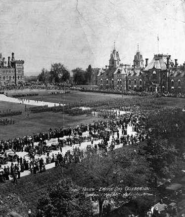 Parliament Hill Empire Day Celebration, 1916