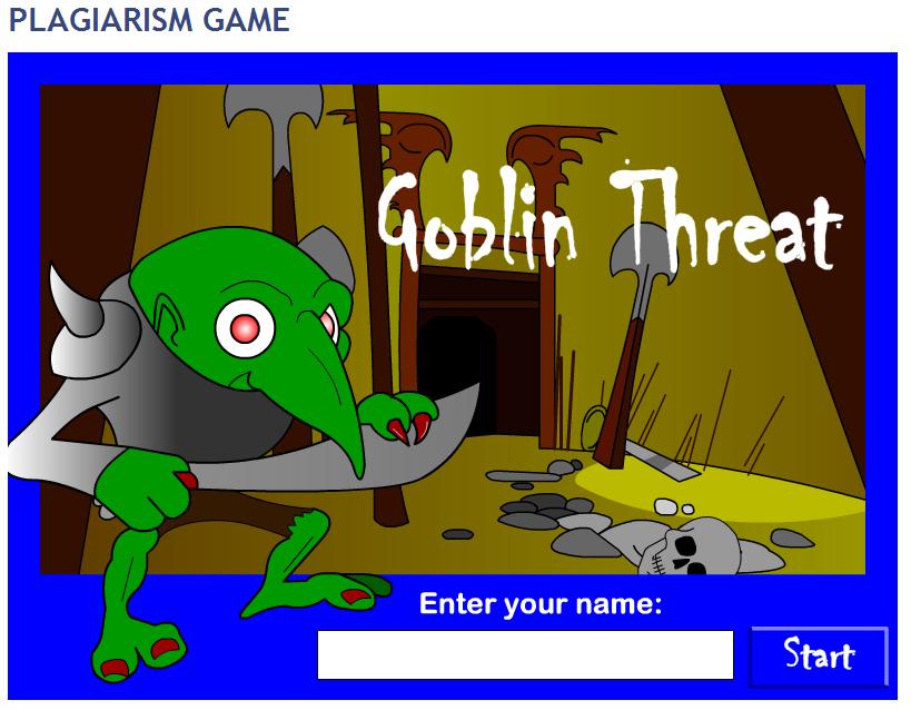 Plagiarism Game