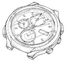 US patent - clock