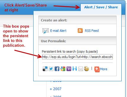 Alert / Save / Share