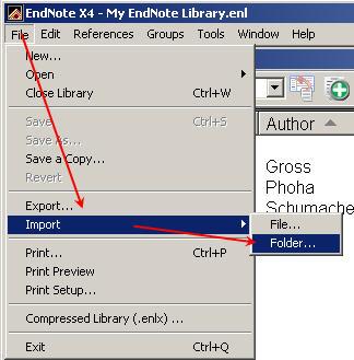 Importing a PDF file