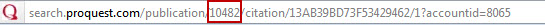Location Bar URL for WSJ