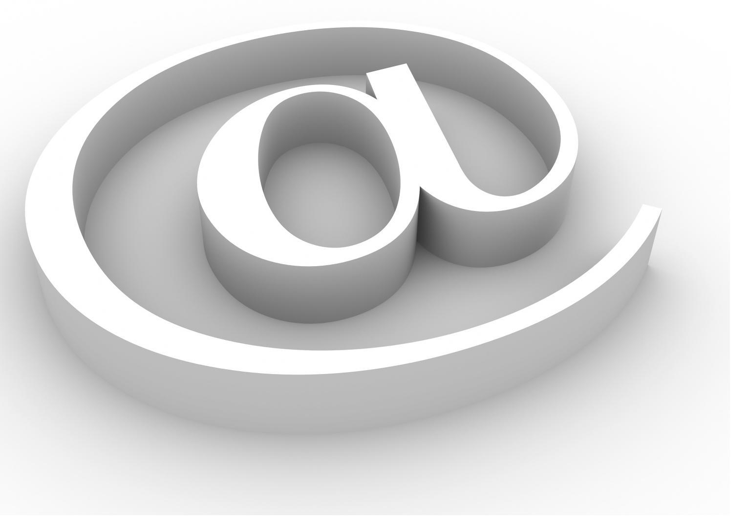 Image of an @ symbol.