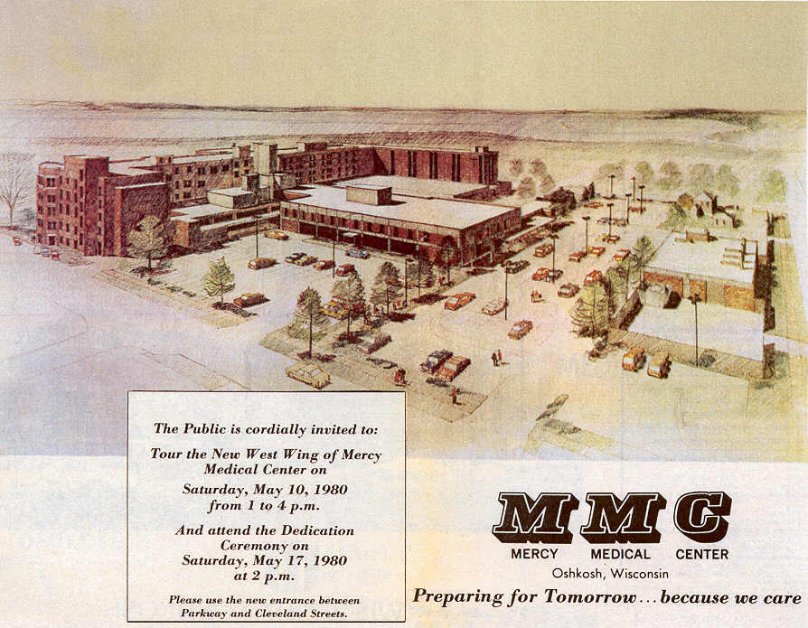 Mercy Medical Center 1980 Expansion