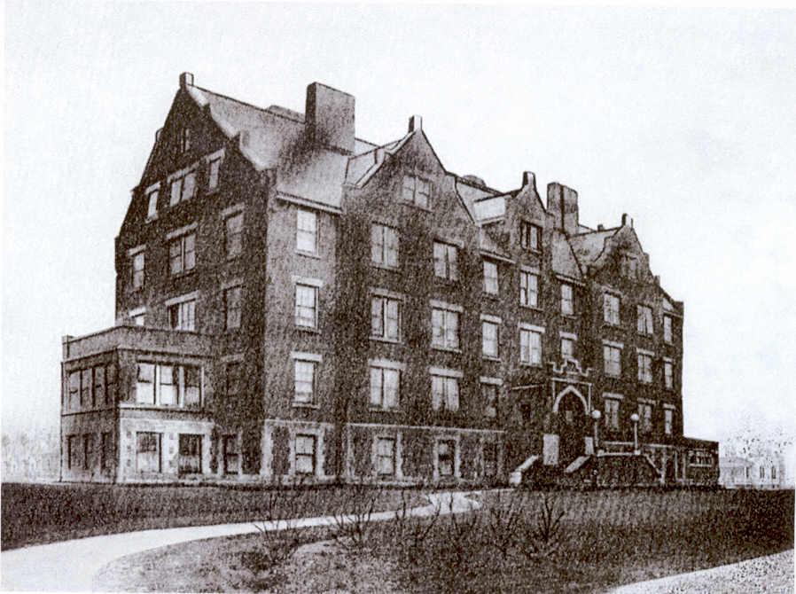 Lakeside Sanitorium, Oshkosh, WI 1897