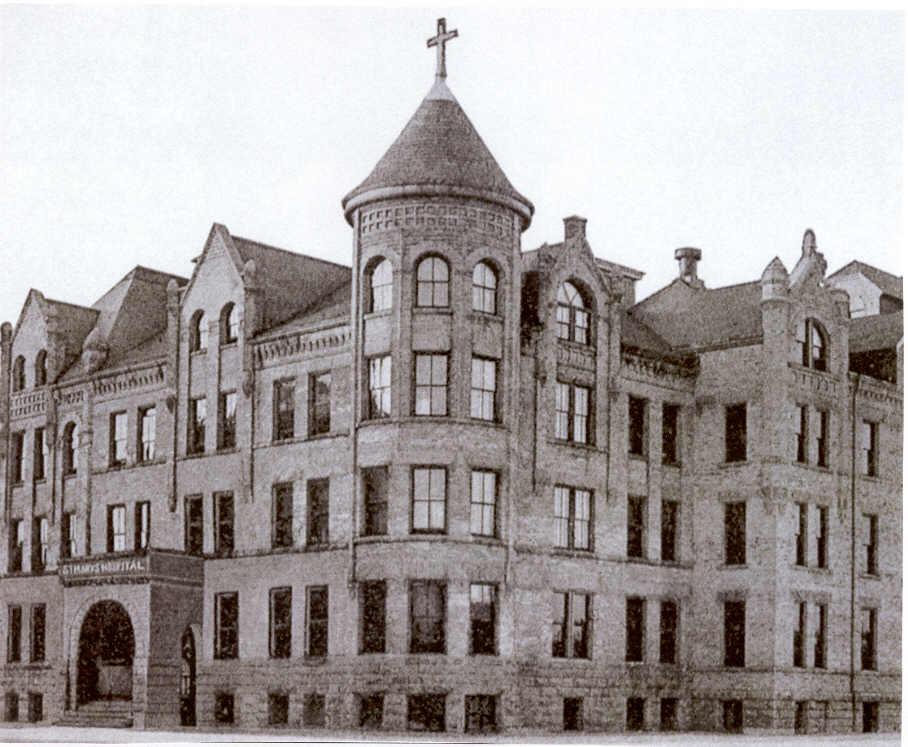 St Mary's Hospital Oshkosh 1894