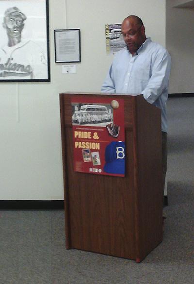 Francis Morrison lecturing at KU, September 19, 2012