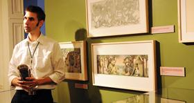 Patrick Rodgers at the Rosenbach Museum