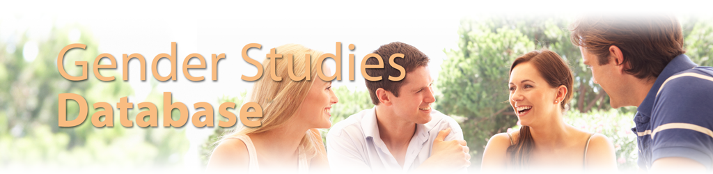Gender Studies Database Header Image