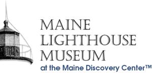 Maine Lightouse Museum at the Maine Discovery Center (TM) logo