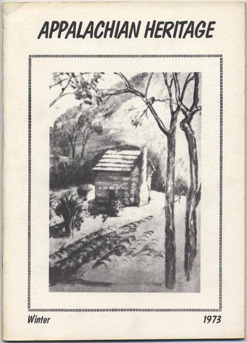 Winter, 1973 cover.
