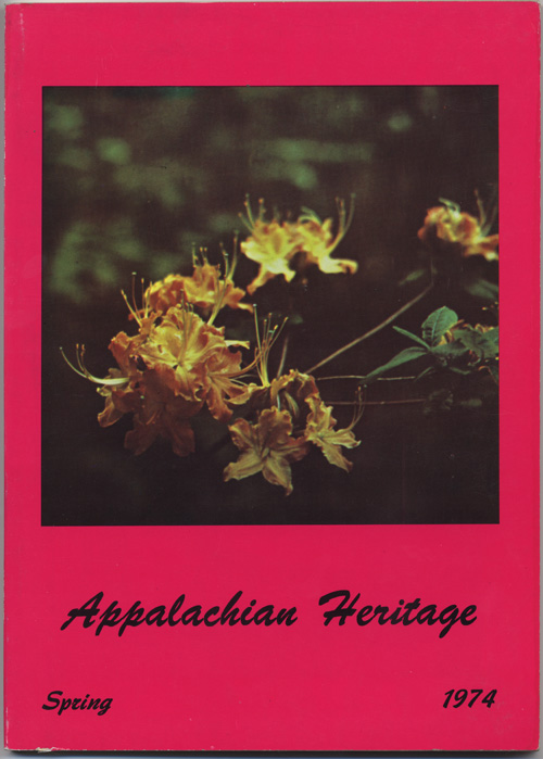 Spring, 1974 cover.