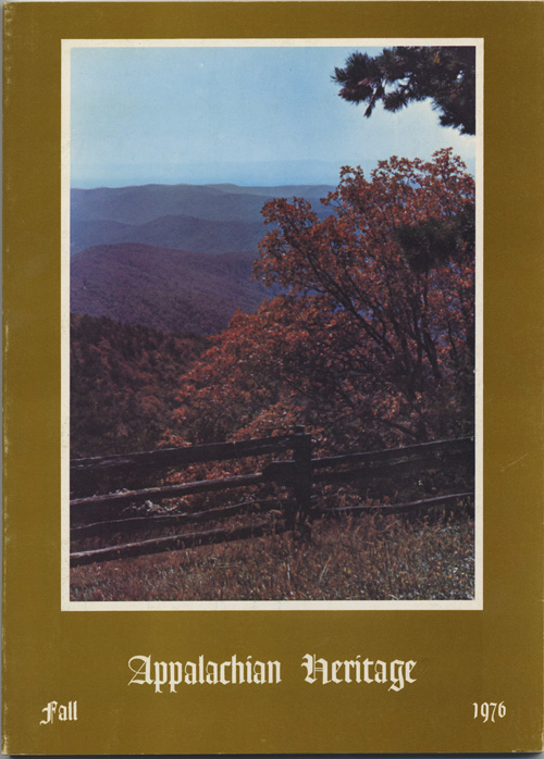 Fall, 1976 cover.