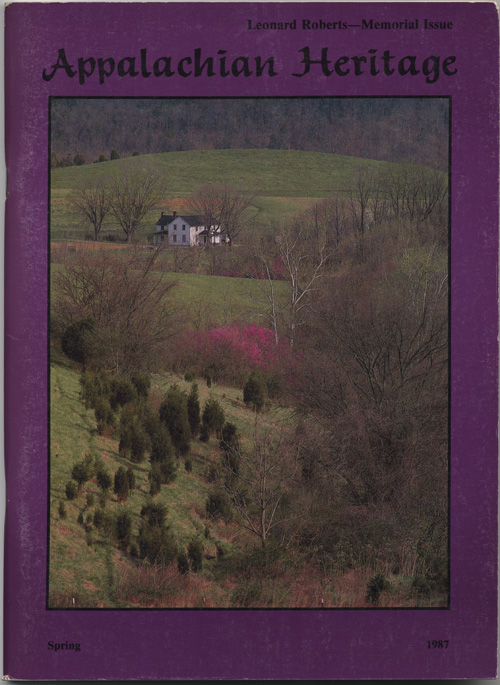 Spring, 1987 cover.