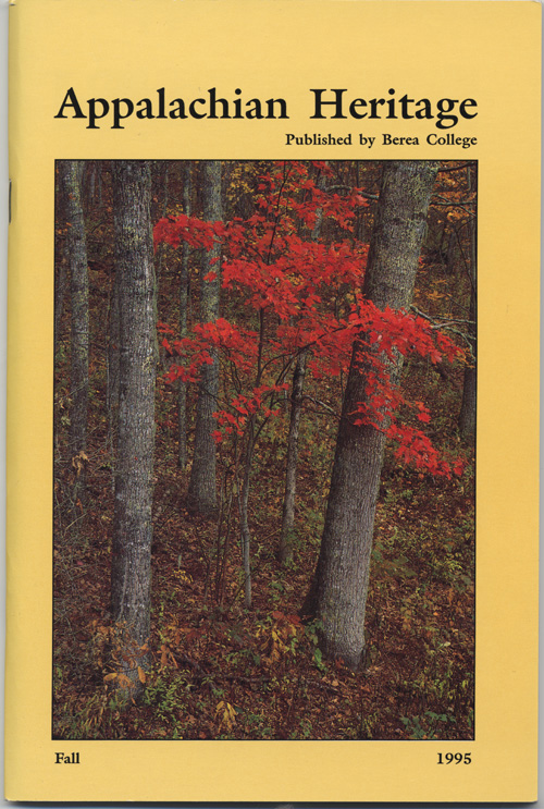 Fall, 1995 cover