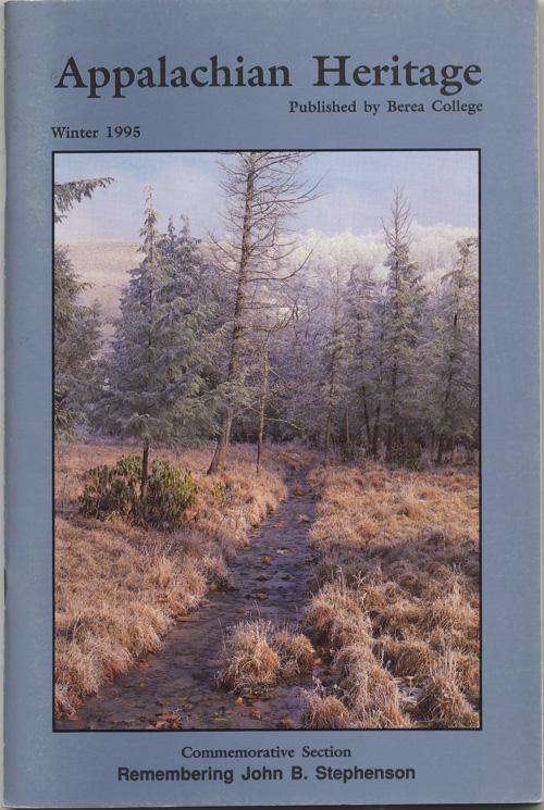 Winter, 1995 cover