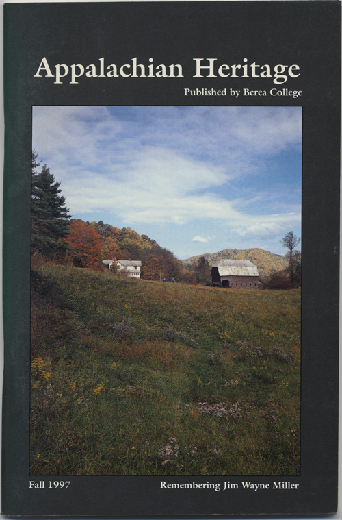 Fall, 1997 cover.