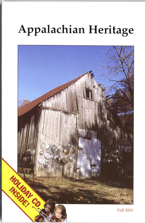 Fall, 2001 cover.