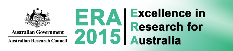 Logo for ERA (Excellence in Research Australia)