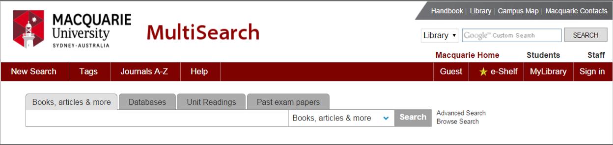 MultiSearch screenshot