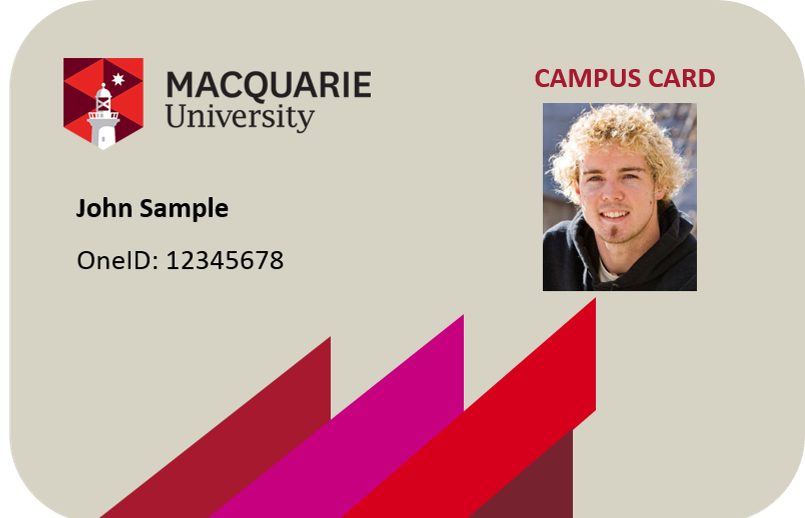 Sample Student card