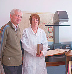 Library Digitisation Unit staff