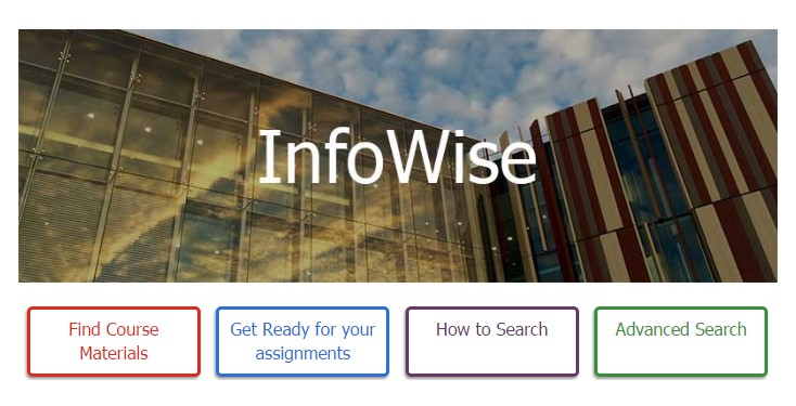 Infowise homepage
