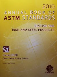 Book cover of ASTM standards