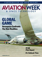 Aviation Week & Space Technology cover