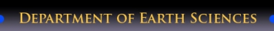 Department of Earth Sciences Logo
