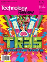 Technology Review cover