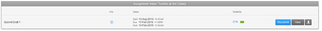 Screenshot of inbox