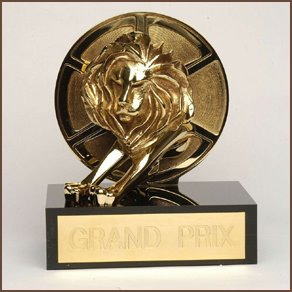 Cannes Lion Grand Prix Award Statue
