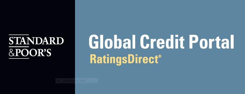 Standard & Poor's Global Credit Portal