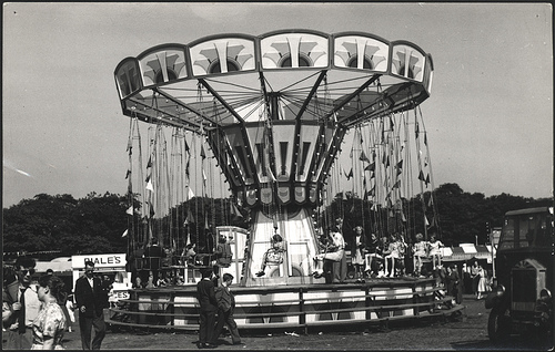 Swing ride - Hoppings by Tyne & Wear Archives & Museums via Flickr