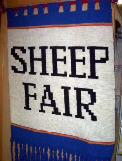 Sheep Fair, Banner