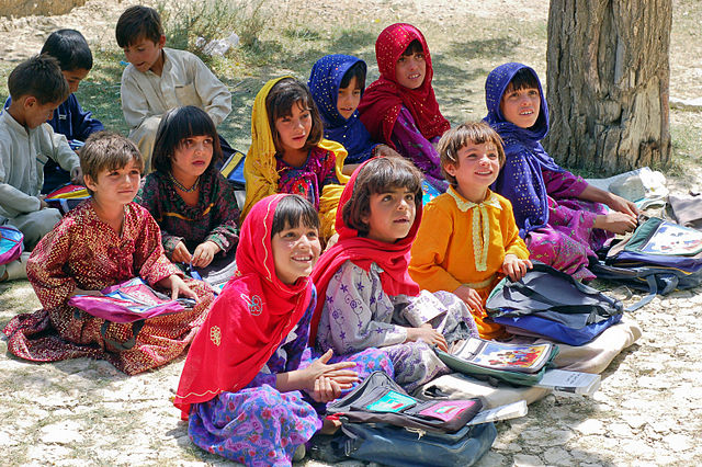Photo of Schoolgirls in Bamozai