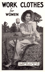 Work Clothes for Women publication cover